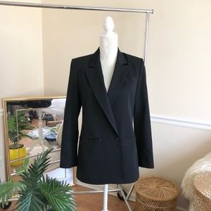 Dior Chic Double Breasted Black Wool Blazer 6
